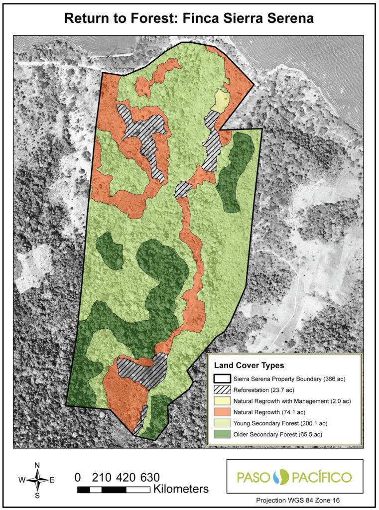 Sierra Serena map by Kim Williams-Guillen